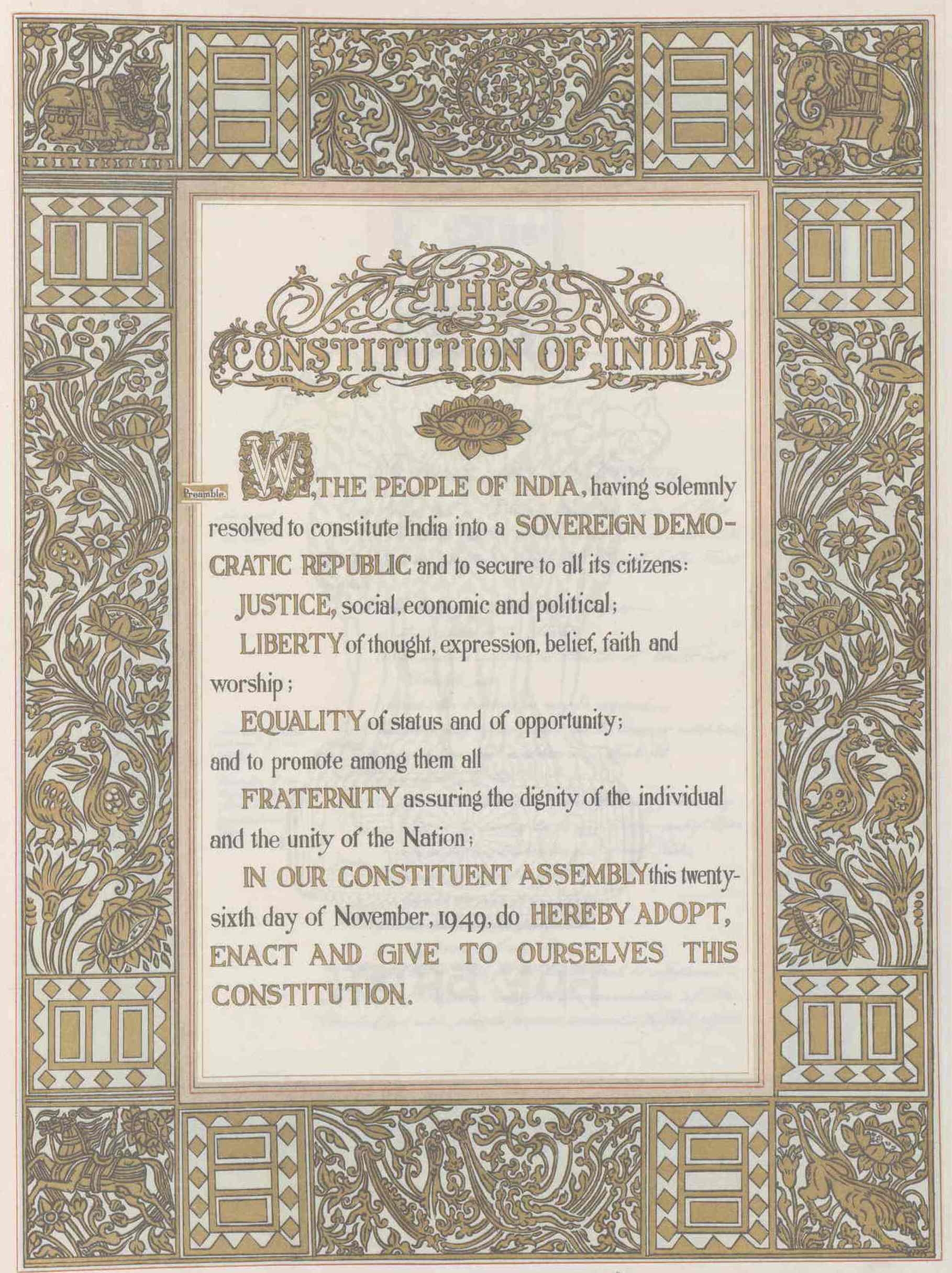 indian constitution report 12 plus 24