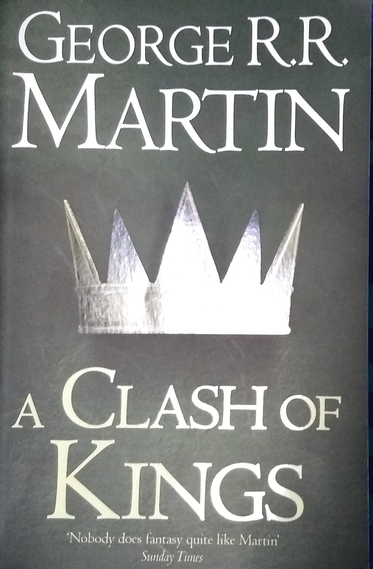 Clash of Kings, George R R Martin